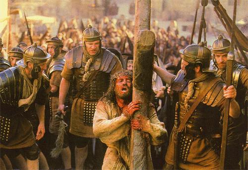 Foto de Jesús cargando la cruz