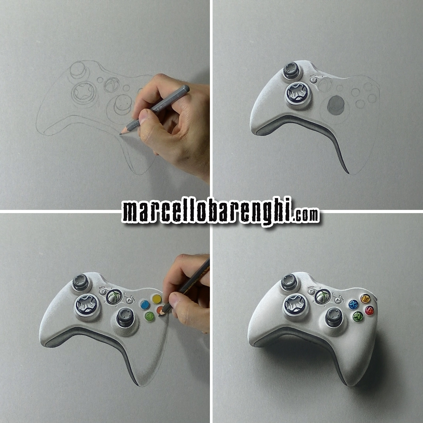 Xbox Live Drawing : The gallery for gt xbox controller drawing