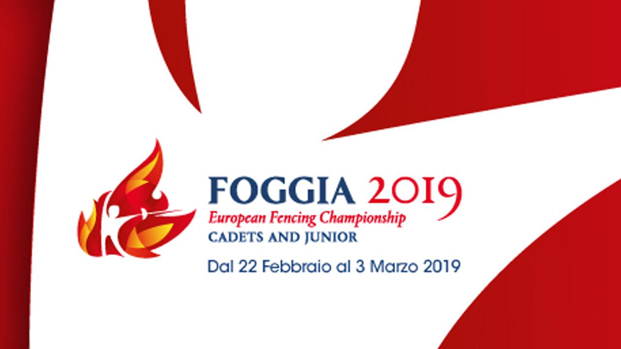 Campionati Europei Cadetti/Giovani Foggia 2019