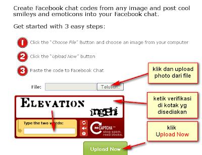Cara Buat Emoticon dengan Gambar sendiri di Chat FB (Facebook)