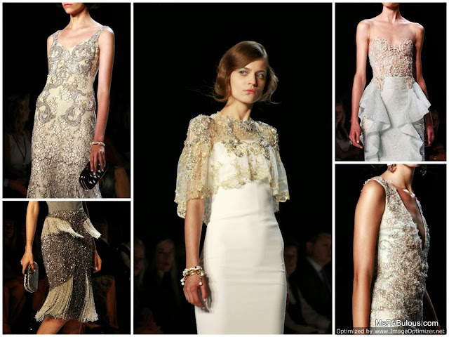 Badgley Mischka's Vintage Embroidery
