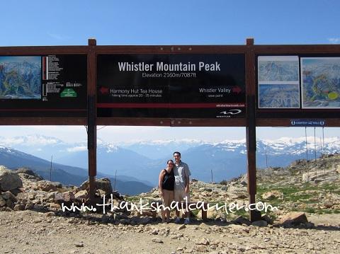 Whistler Mountain Peak