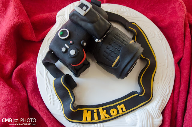 Tarta cámara fotográfica Nikon