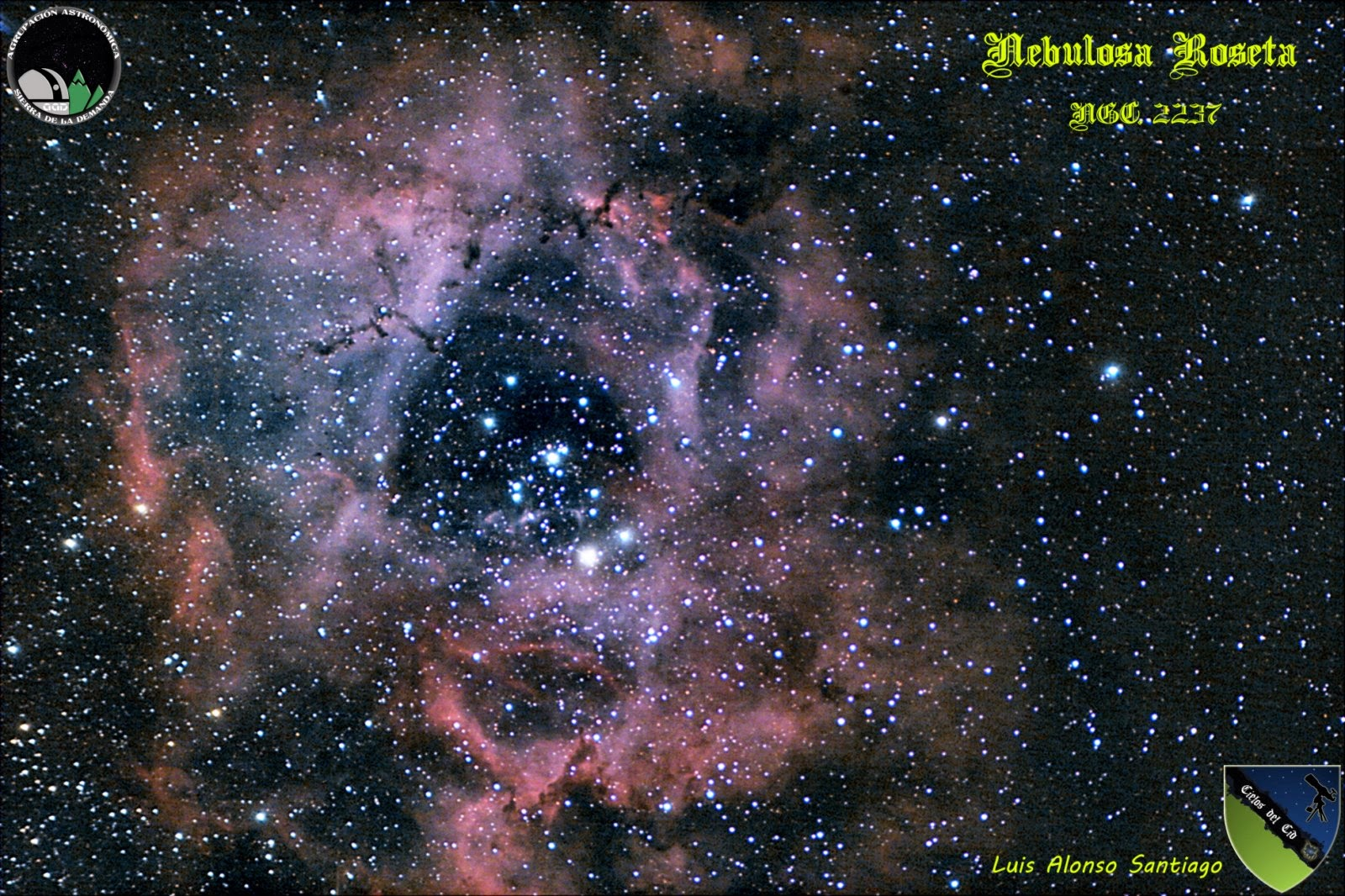 Nebulosa Roseta. NGC2237