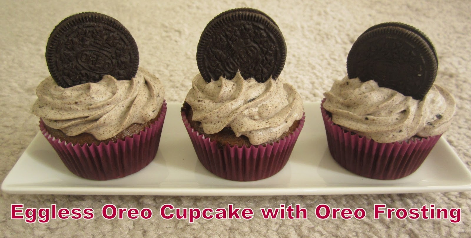 Eggless Cupcake Recipes