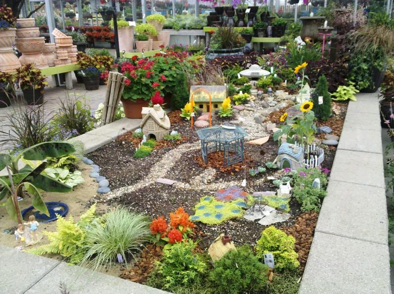 blondemafia fairy garden