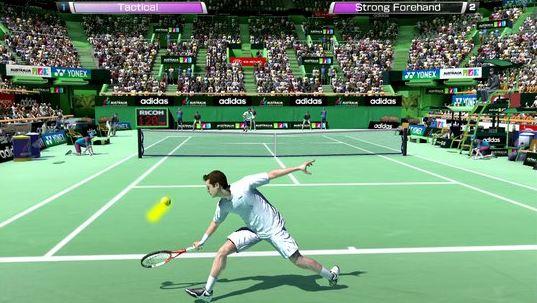 اللعبة الأكثر رائعة (Virtua Tennis challenge (Apk  data