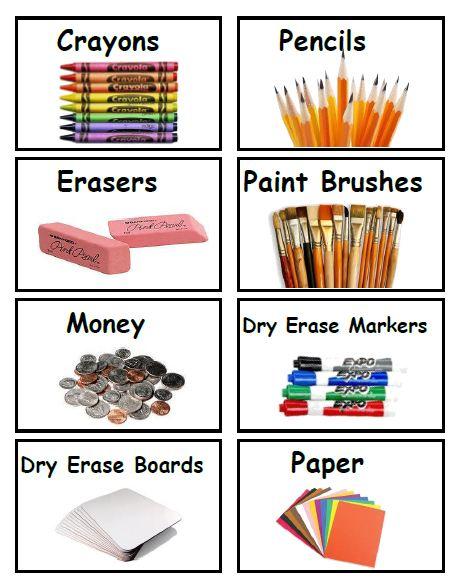 Satisfactory image regarding free printable classroom labels for preschoolers