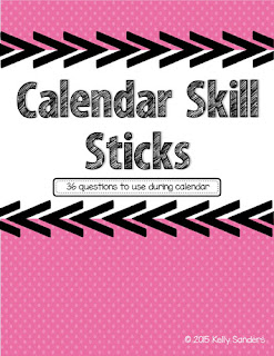 https://www.teacherspayteachers.com/Product/Calendar-Skill-Stick-Questions-2079468