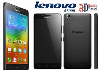 Armaila Ponsel Lenovo A6000 - 4G LTE - 8 GB - Hitam