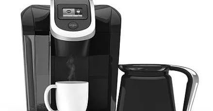The Keurig K-Select brewer combines sleek design and more intuitive features to help you brew your perfect cup every single time. It features four brew sizes, so you can brew 6, 8, 10, or up to 12 oz. of your favorite coffee, tea, hot cocoa, or iced beverage in under a minute with the touch of a button.