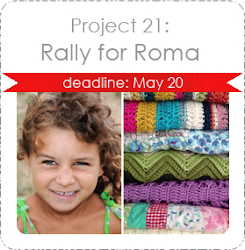 Craft Hope Project 21: Rally for Roma