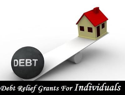 Debt Relief Grants For Individuals
