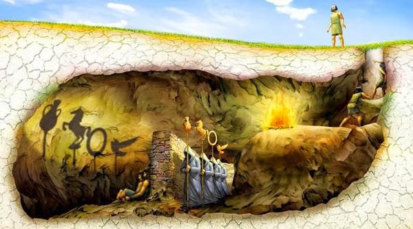 Από το σπήλαιο του Πλάτωνα στο φως μιας άλλης πραγματικότητας!!!