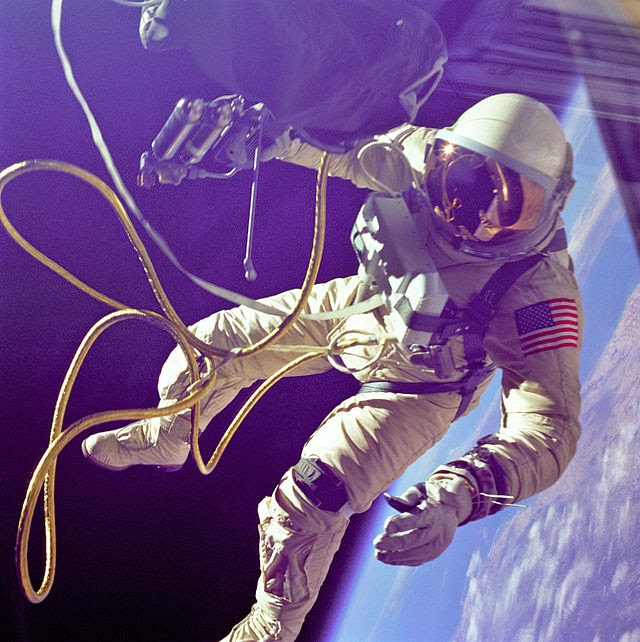 Picture of First US Space Walk - 1965 [[slnc 1000]]