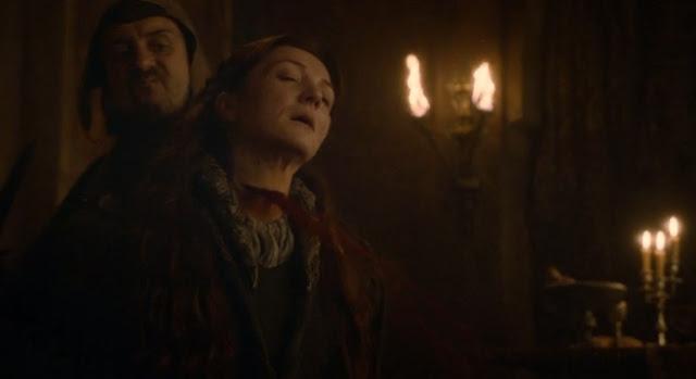 Catelyn muere degollada boda roja - Juego de Tronos en los siete reinos
