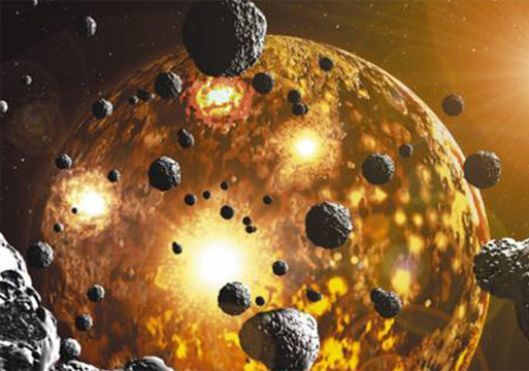 Gold on Earth must have come from colliding dead stars