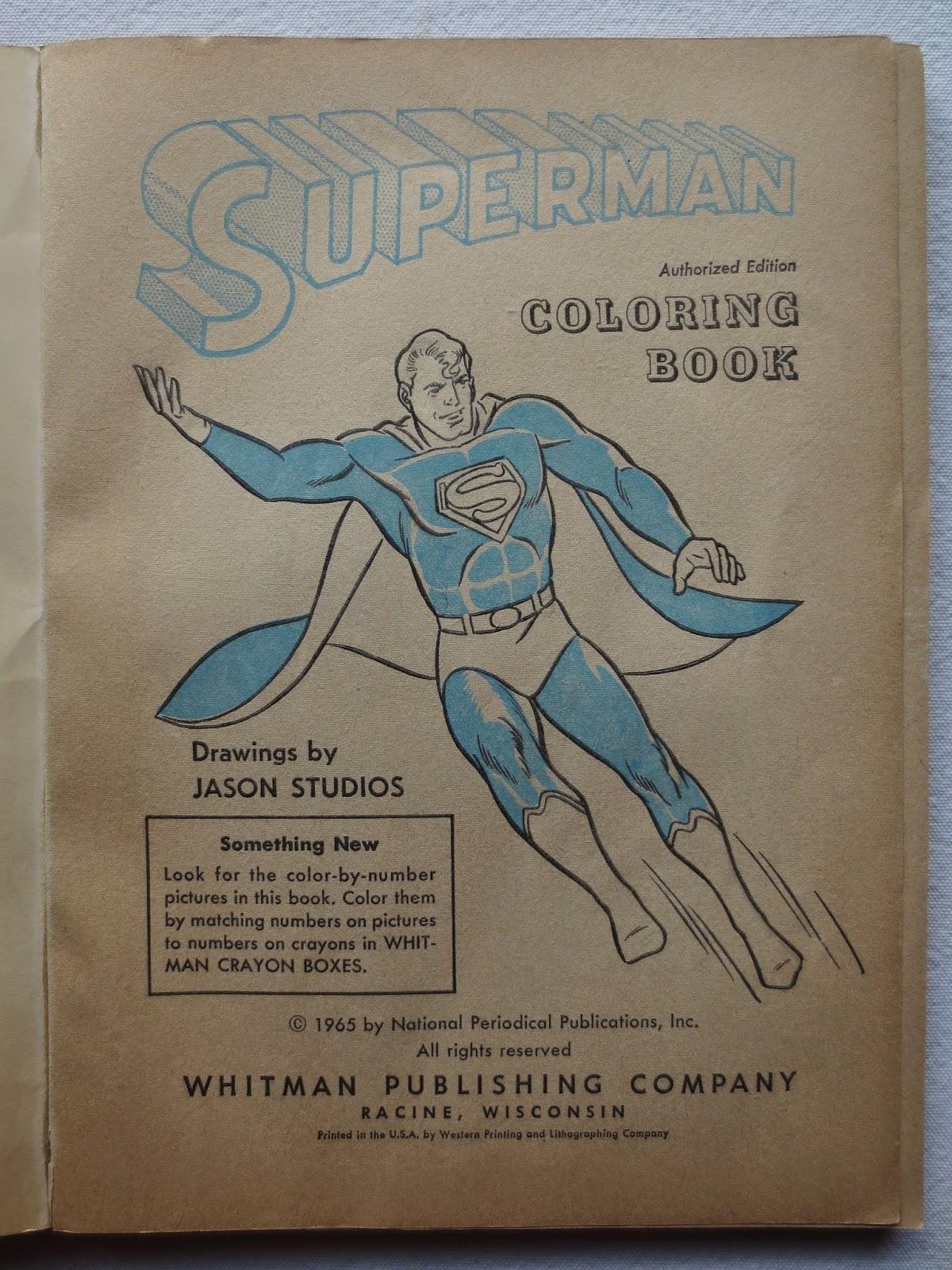 ART SKOOL DAMAGE : Christian Montone: Superman & Batman Coloring ...