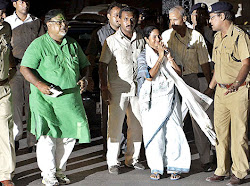 Partha Chatterjee & Mamata Banerjee in Road.