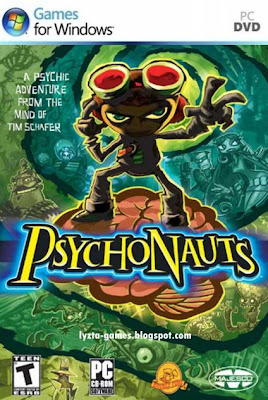 Psychonauts PC Cover
