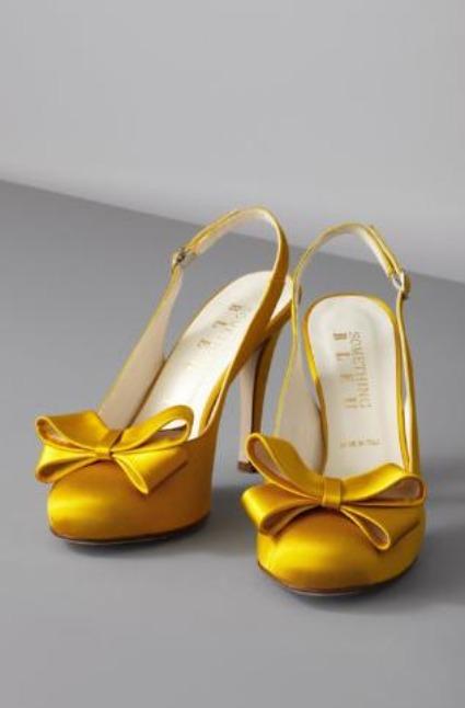 scarpa gialla