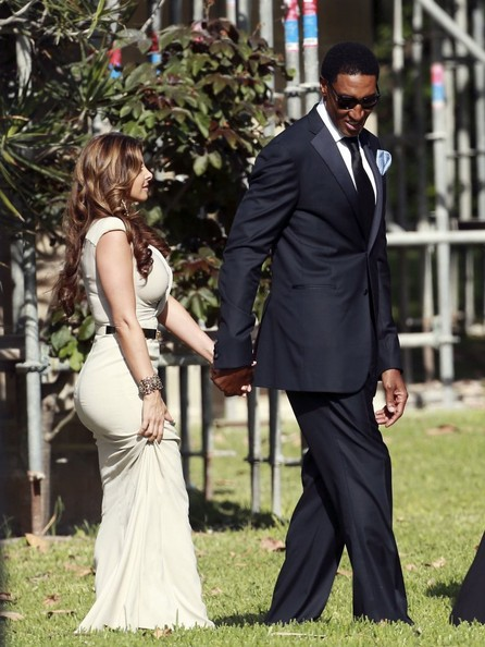 HOUSE OF GLITZ...!!!: MICHAEL JORDAN & YVETTE PRIETO WEDDING ...
