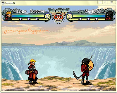 Naruto Shippuden Ninja Generations - MUGEN PC Games gamplay