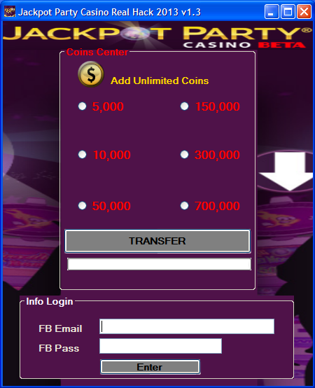 Jackpot Party Casino Hack - August 2013 (Proof and Free Download)