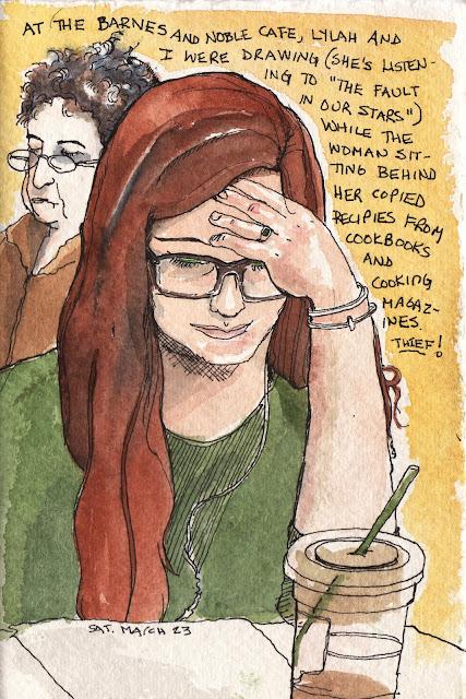 Karen Sandstrom drawing