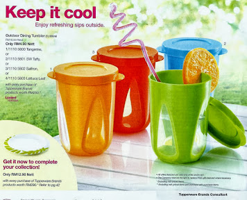 KEEP IT COOL TUPPERWARE