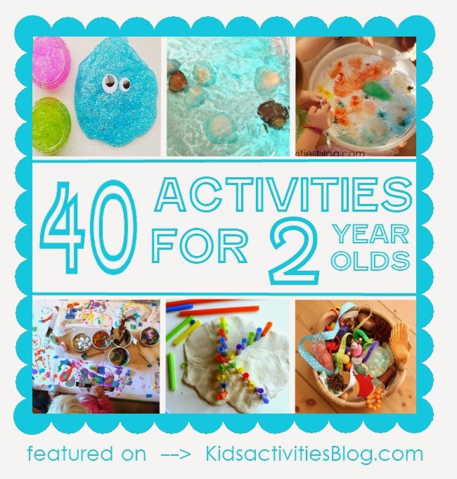 40 ACTIVITIES FOR TODDLERS