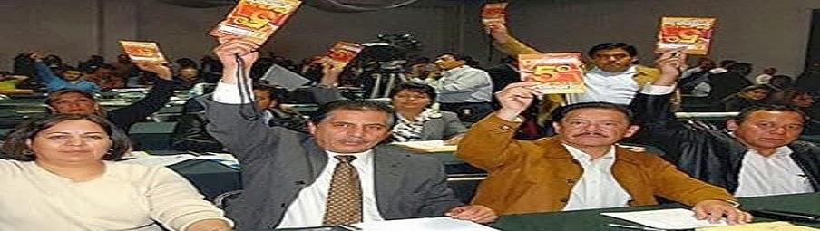 Los traidores del PRD y Verdugos del maestro