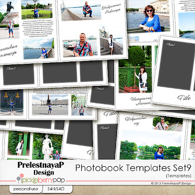 prelestnayap design new photobook templates set 9 20 off 4 formats. Black Bedroom Furniture Sets. Home Design Ideas