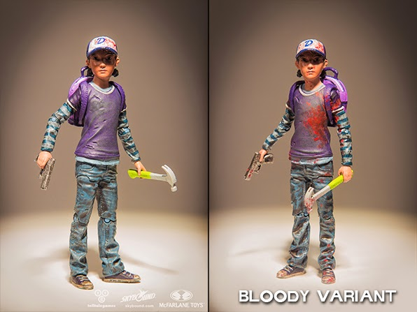 The Walking Dead Clementine Action Figure by McFarlane Toys