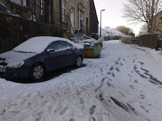 Snow in Todmorden