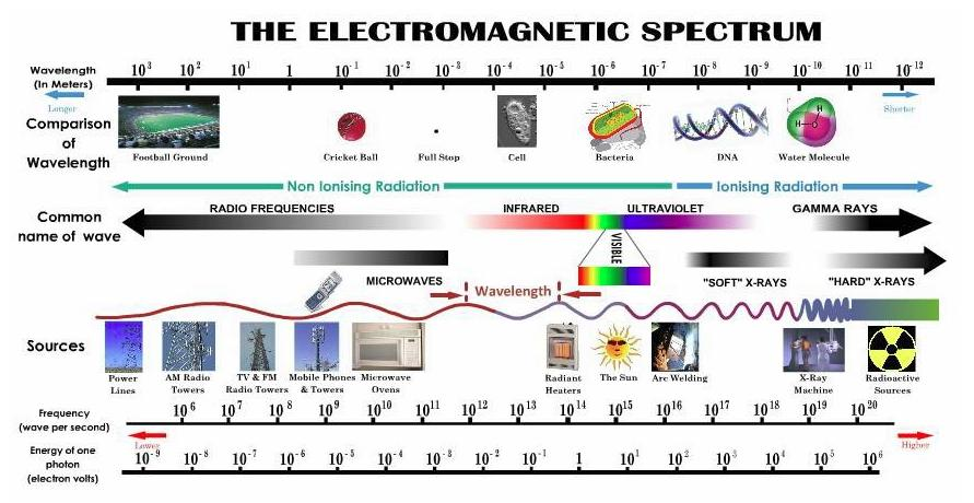 Mad Science: Dangers of teh WiFis Examples Of Electromagnetic Waves