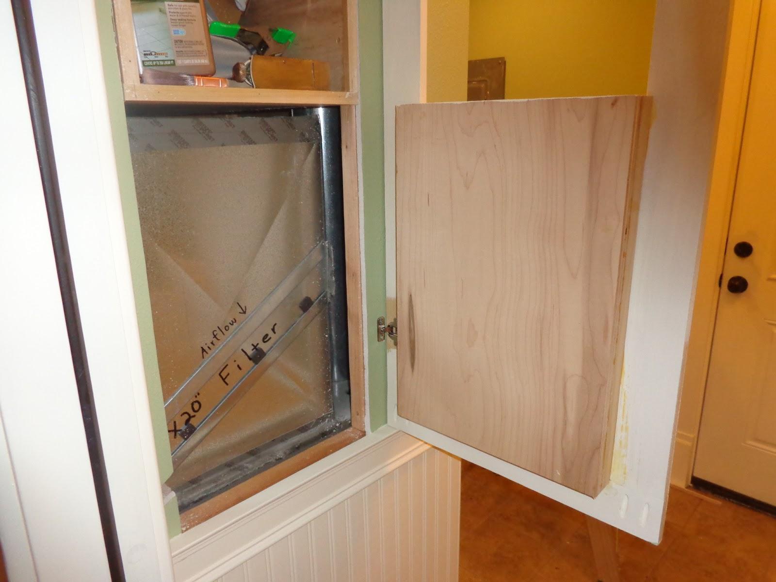 The Smiths Laundry Room Cabinet Door