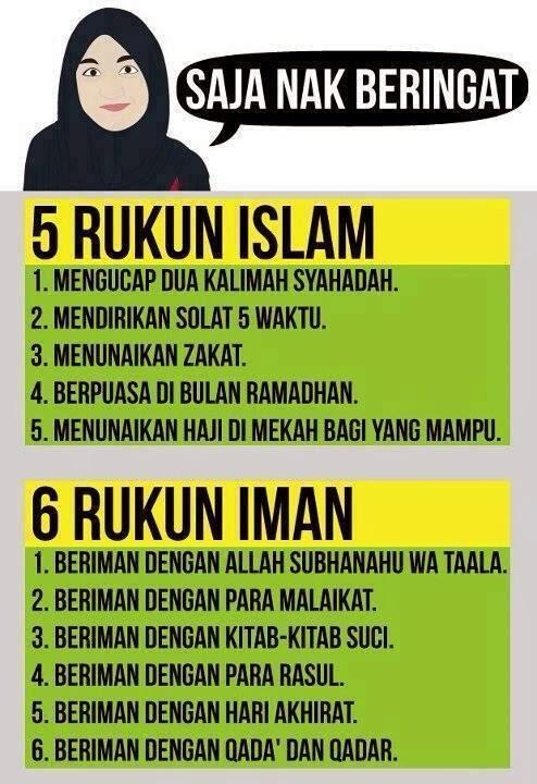 RukunIslam RukunIman :)