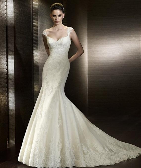bridesmaid dresses: 2012 Mermaid Wedding Dresses