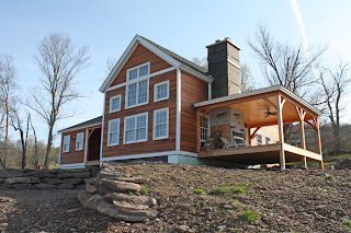 timber frame home catskills new york