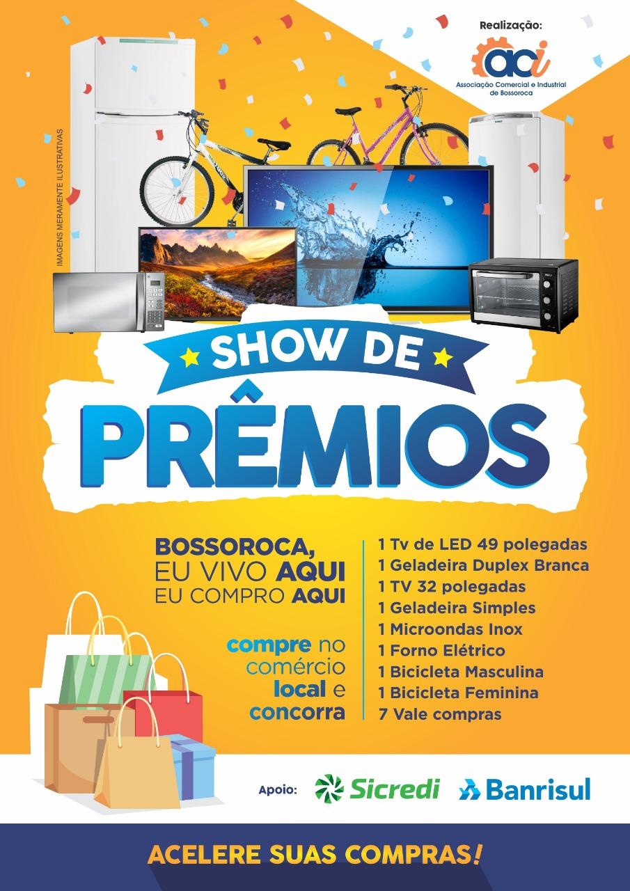Show de Prêmios ACI Bossoroca