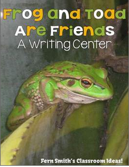 http://www.teacherspayteachers.com/Product/Frog-and-Toad-Are-Friends-Writing-Center-For-Common-Core-1184672