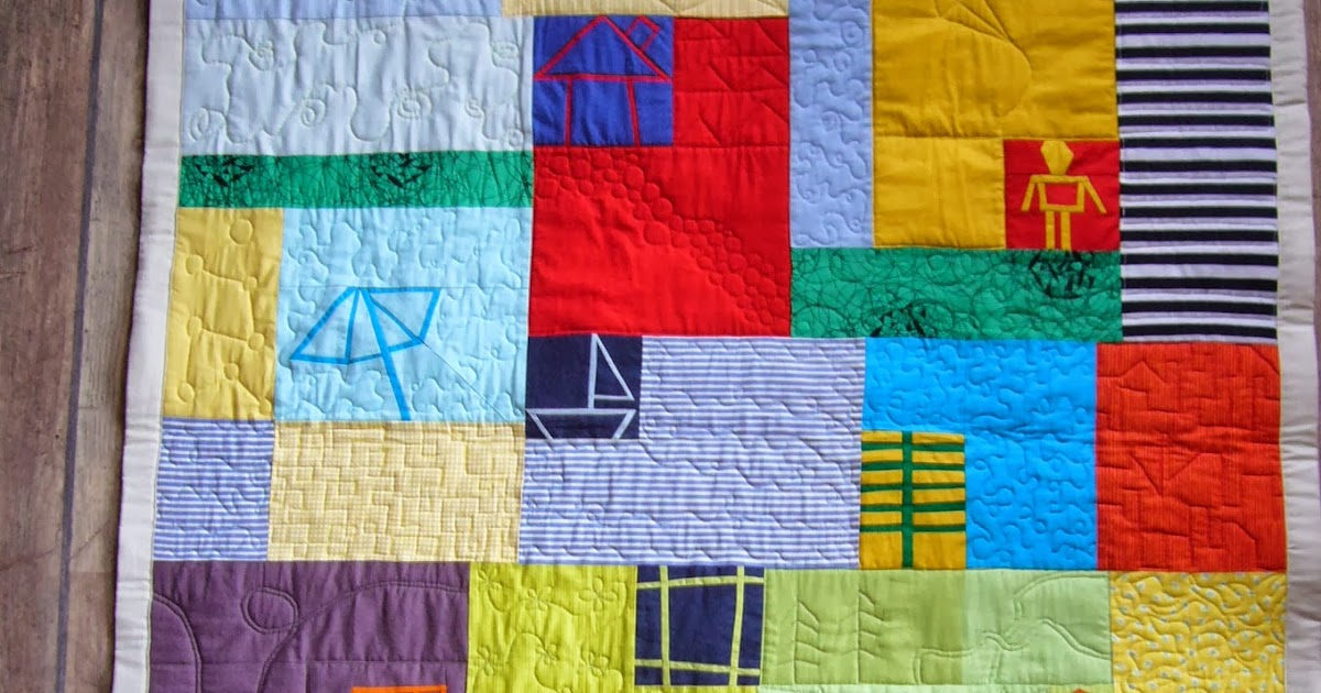 The Baby Quilt Is Finished on Baby Crafts