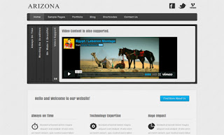 Arizona WordPress Theme