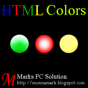 Standard Color of HTML