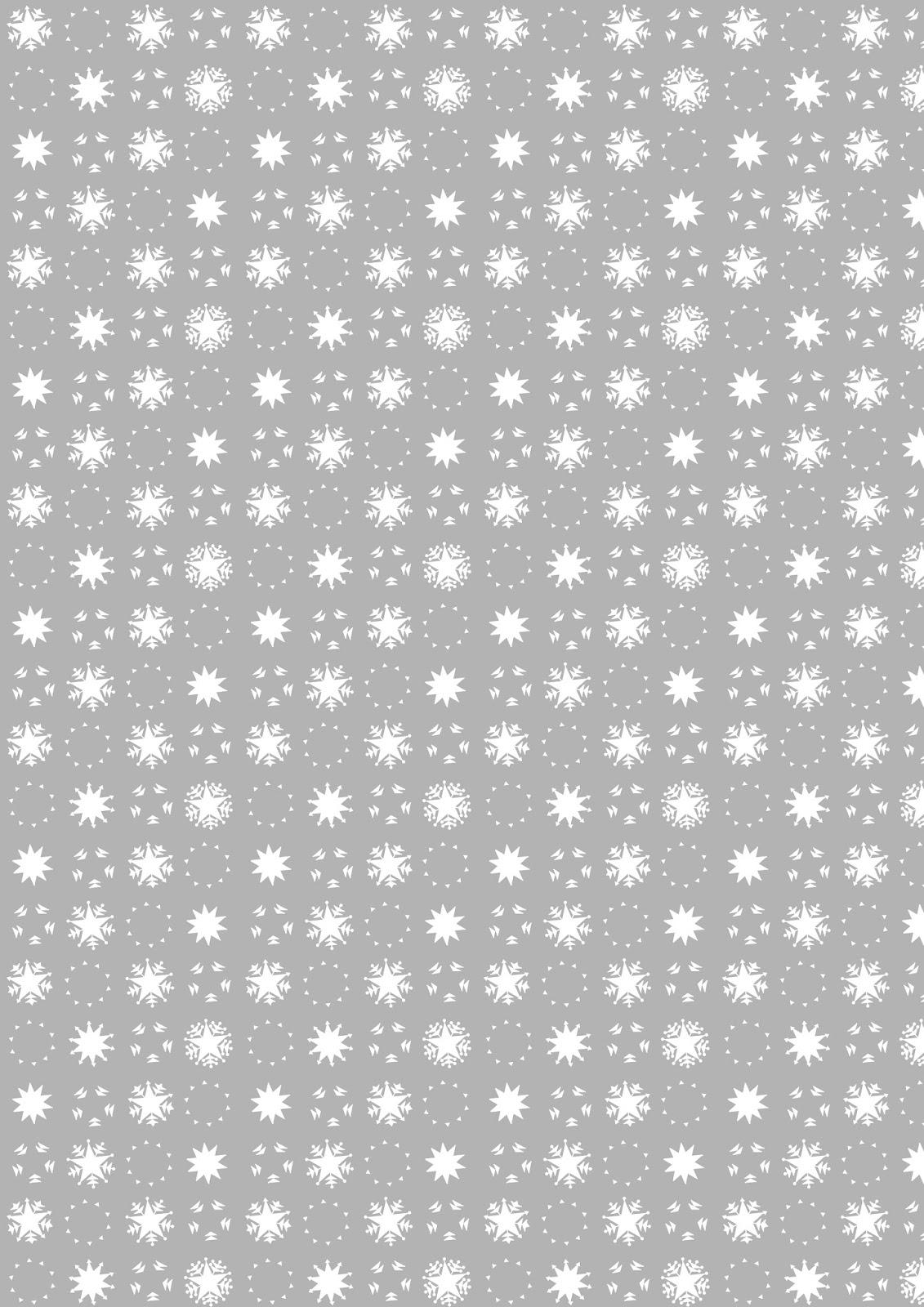 free printable snowflake pattern paper din a4