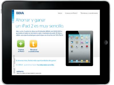 concurso+BBVA+gana+ipad+2+16GB+cuenta+de+ahorros