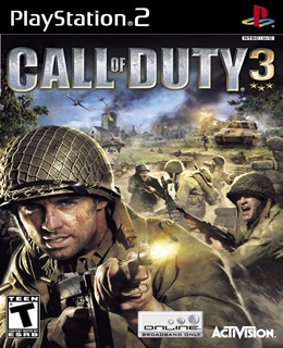 Call of Duty 3 PS2 Capa