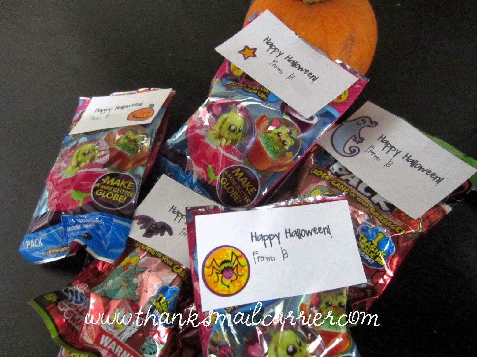 halloween non candy