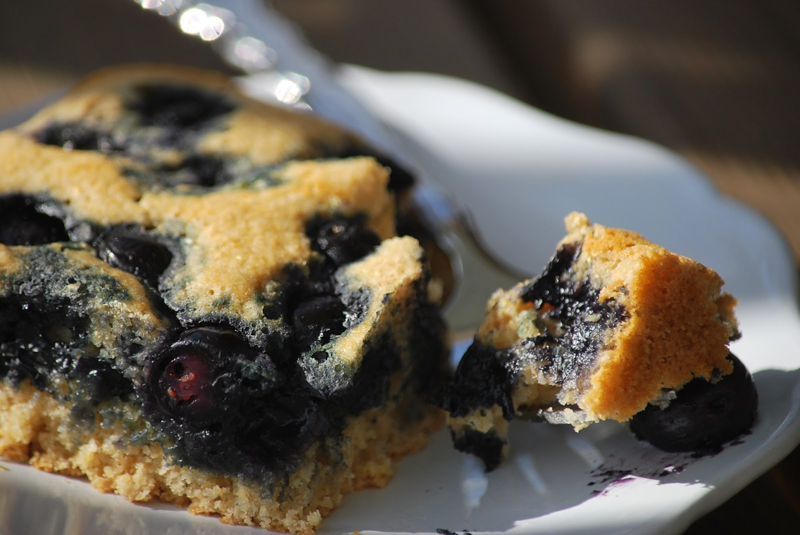 My story in recipes: Blueberry Dumpster Cobbler
